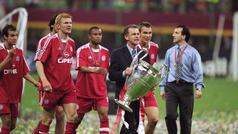 Хитцфелд: Поражението от Юнайтед през 1999 г. накара играчите на Байерн да отговорят