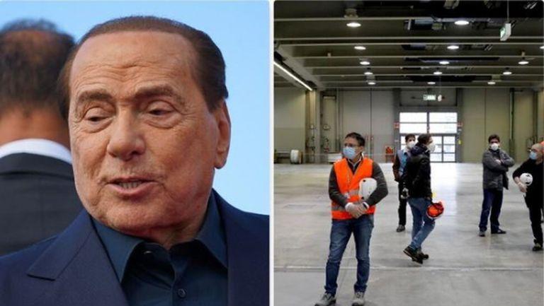 Берлускони дари 10 млн. евро за борбата в Милано