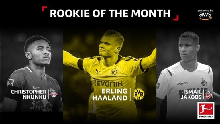 Дортмунд обра месечните награди в Бундеслигата