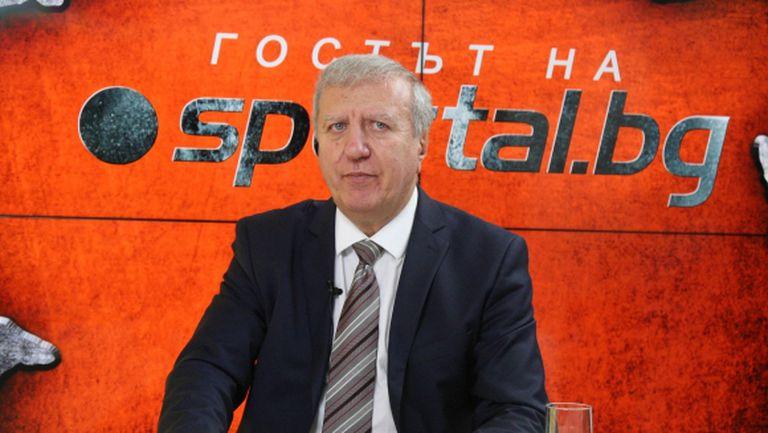 Томов: БФС да излезе с предложение към държавата и клубовете, футболът може да се срине