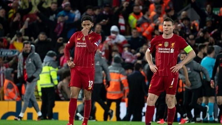 Ливърпул предложи помощ на играчите си за справяне със стреса, причинен от отлагането на шампионския триумф