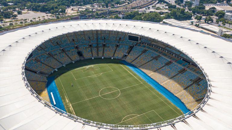 Най-популярният стадион в Бразилия също става полева болница