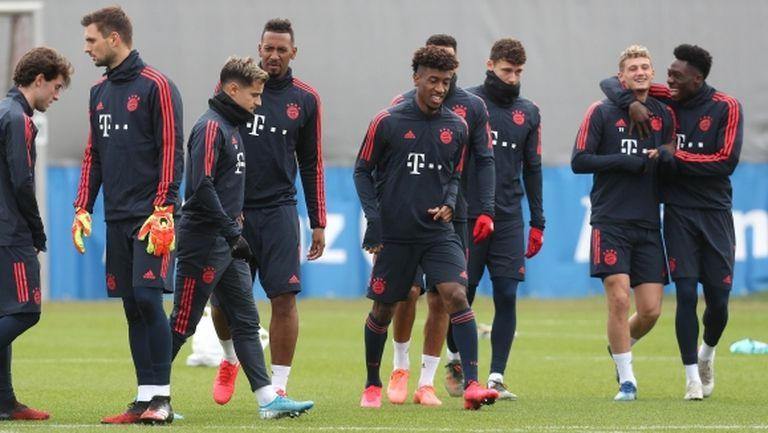 Байерн (Мюнхен) подновява тренировки