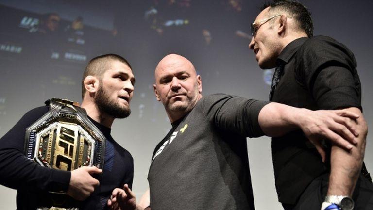 Дейна Уайт: UFC 249 ще има, но без Хабиб