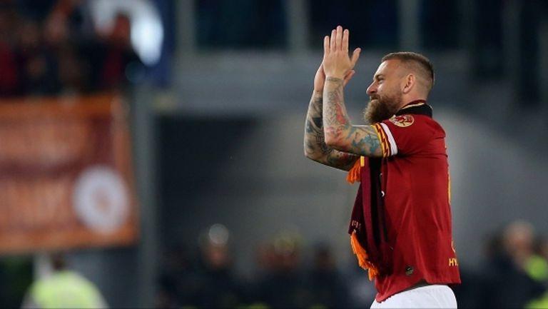 Де Роси: Бих се радвал да бъда треньор на Рома