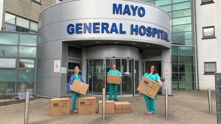 Болниците в Ирландия получиха даренията на Конър Макгрегър