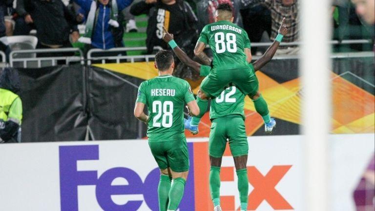 Лудогорец счупи рекорд по голове в Европа