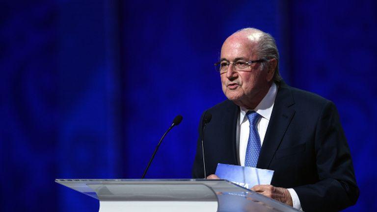 Сеп Блатер: Световното през 2022 г. може да се проведе в САЩ