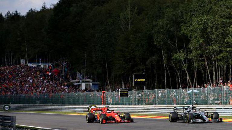 Спряха продажбата на билети за Гран при на Белгия