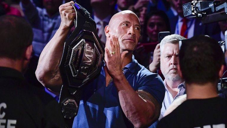 """Скалата с надъхващо послание към """"звяр"""" от UFC (видео)"""