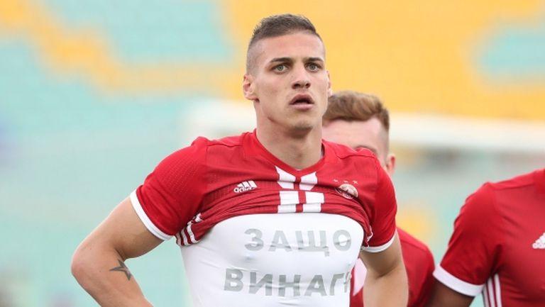 Десподов взриви социалните мрежи с изказване за звезди на ЦСКА-София