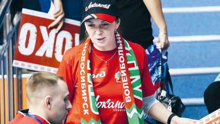 Фенка №1 на Локомотив (Новосибирск): Не мога без волейбол