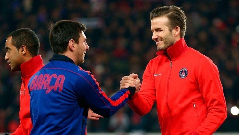 Бекъм: Роналдо като че ли не успя да достигне нивото на Меси