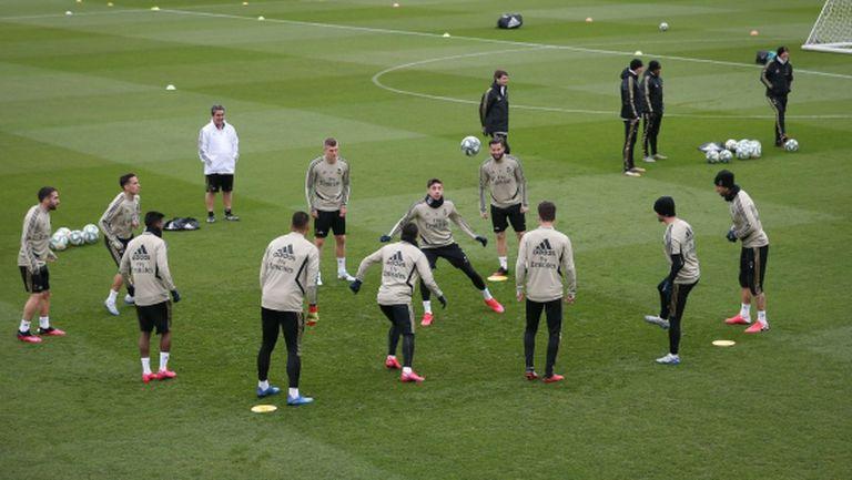 Реал Мадрид се подготвя за възобновяване на тренировките на 4 май