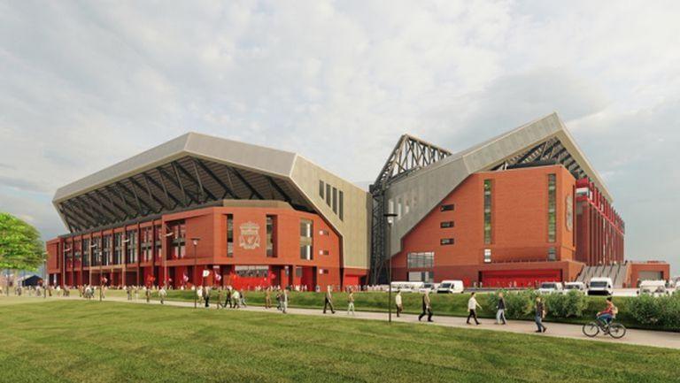 """Ливърпул отложи плана за увеличаването на капацитета на """"Анфийлд"""" с една година"""