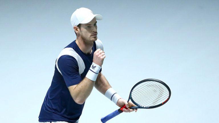 Анди Мъри с убедителна победа, първо отказване от виртуалния Madrid Open