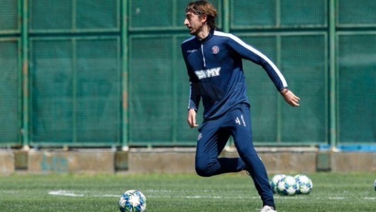 Кристиан Димитров започна тренировки с Хайдук (Сплит)