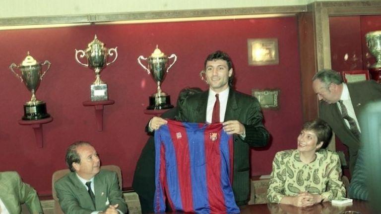Точно 30 години по-късно: Стоичков разказа за големия си трансфер
