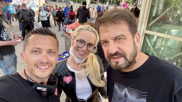 Христо Янев се включи в благотворителната кампания кампания #ЗащотоСмеХора (видео + снимки)