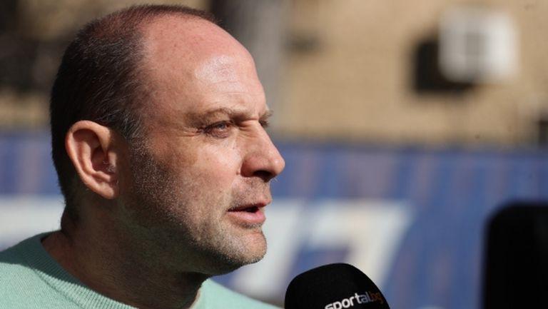 Папазов: Левски може да е като Барса и Реал
