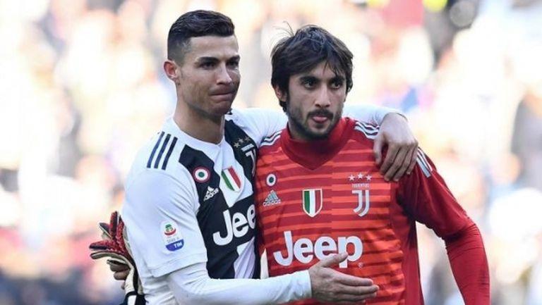 Вратар на Юве: Роналдо винаги е готов да помогне