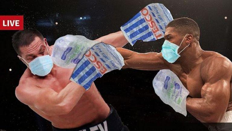Маски за боксьорите и без плюене между рундовете