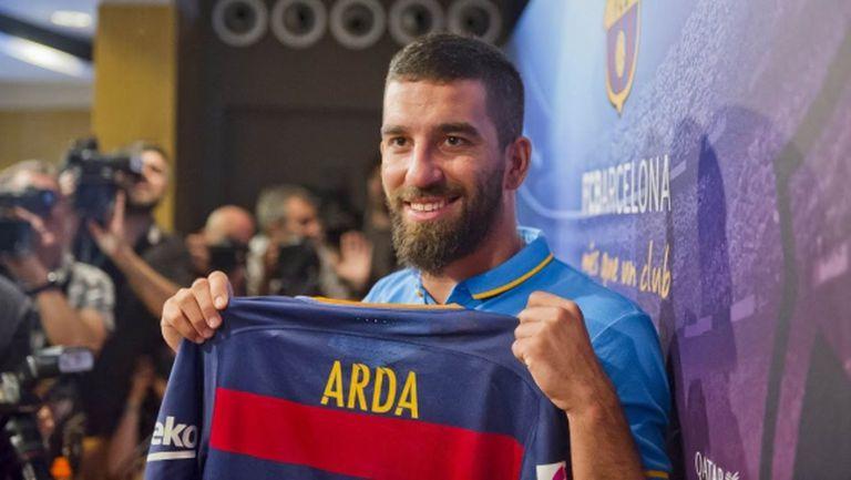 Арда Туран: Разбрах, че отивам в Барселона 15 дни след трансфера