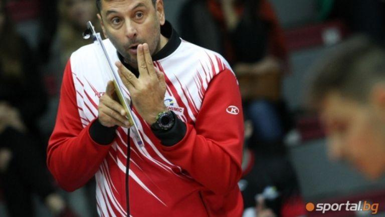 """От Нефтохимик се надяват да играят двубоите си от Шампионската лига в """"Арена Бургас"""""""