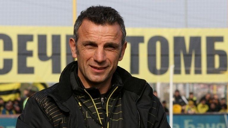 Треньор на Ботев (Пд) си спомни паметен успех над Левски