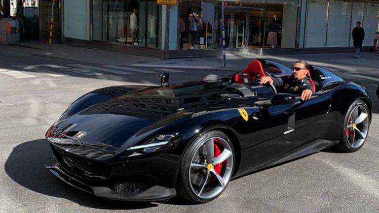 Новото Ферари на Златан му носи главоболия в Швеция