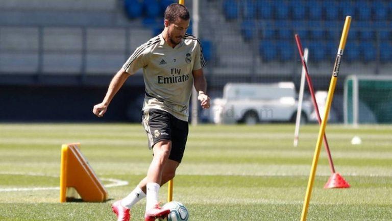 Азар: Сега се нуждая от повече натоварване и игра с топка