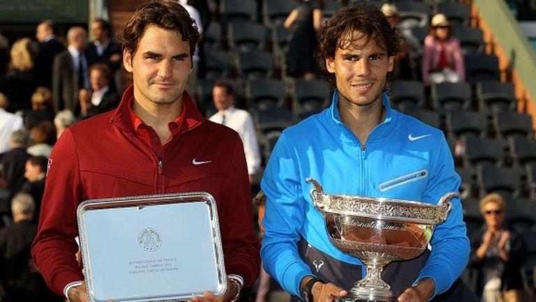 """Гледайте отново: финалът на """"Ролан Гарос"""" 2011 между Надал и Федерер"""