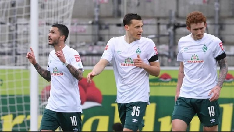 17-ите Илия Груев и Вердер прекъснаха серия от седем мача без успех