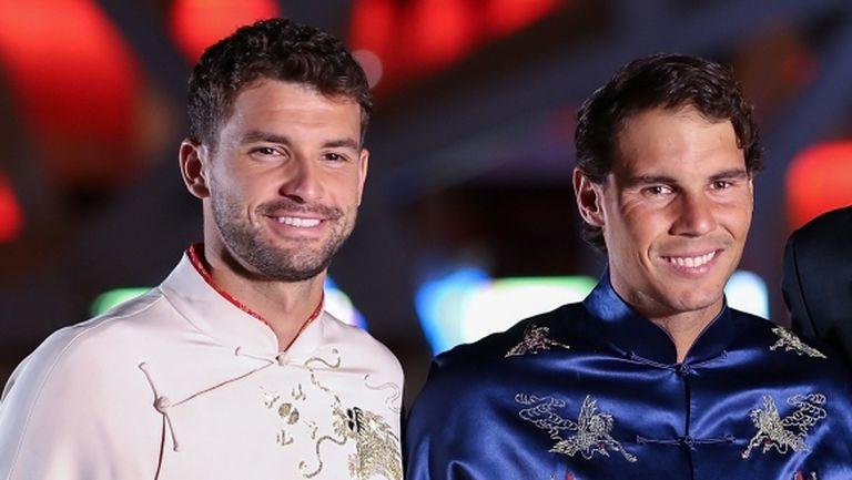 Надал нареди Григор до Федерер и Джокович, пожела си част от арсенала му