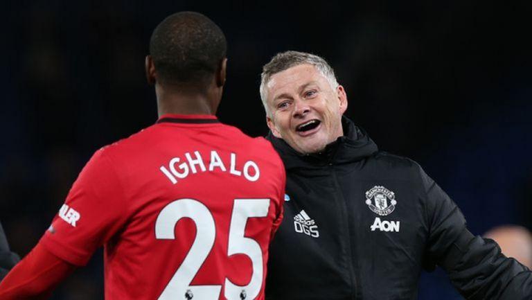 Игало може да остане в Юнайтед до януари, но при едно условие