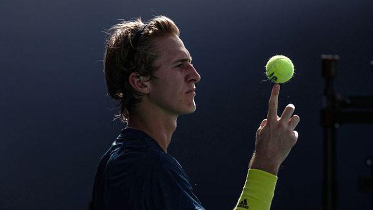 Корда изненада Шварцман в истински тенис шедьовър