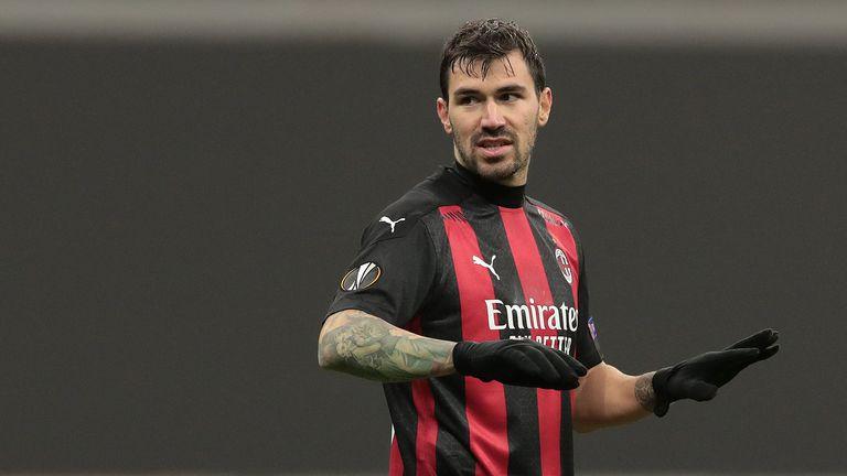 Барса гледа към капитана на Милан