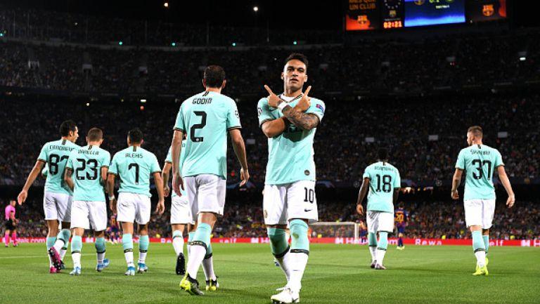 Барселона - Интер 2:1