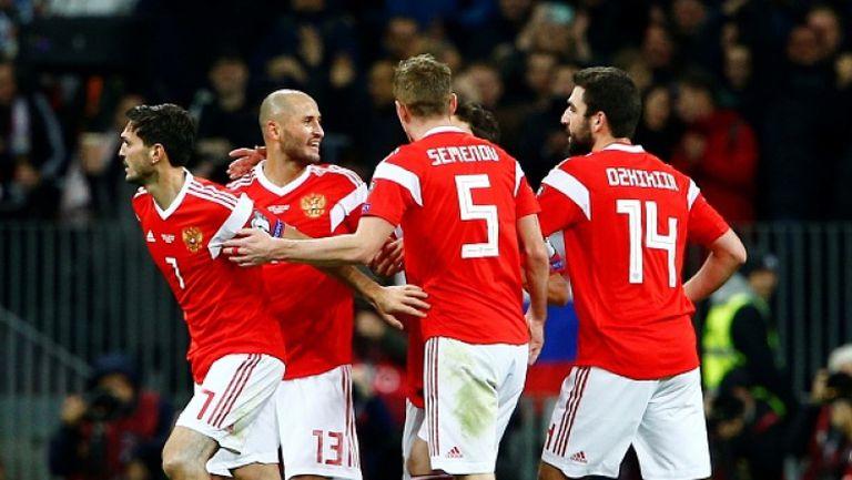 Русия - Шотландия 4:0