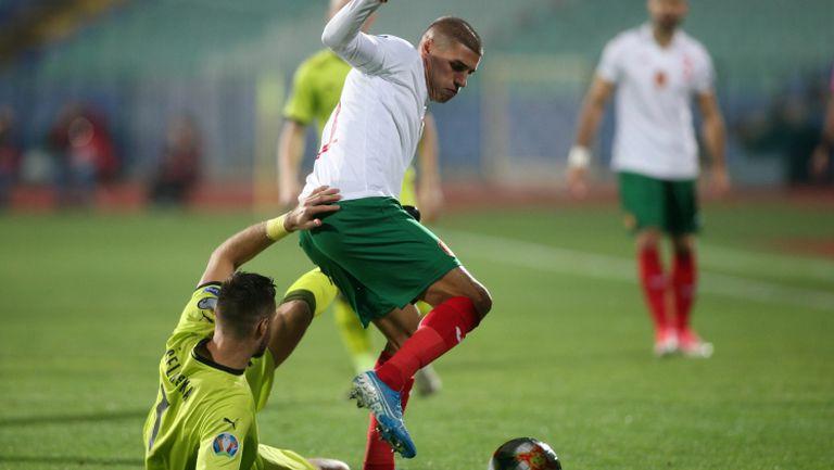 България - Чехия 1:0