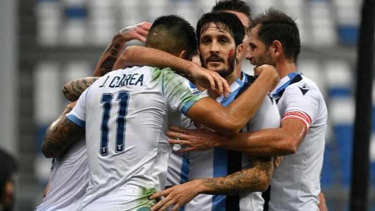 Лацио победи Сасуоло в продължението