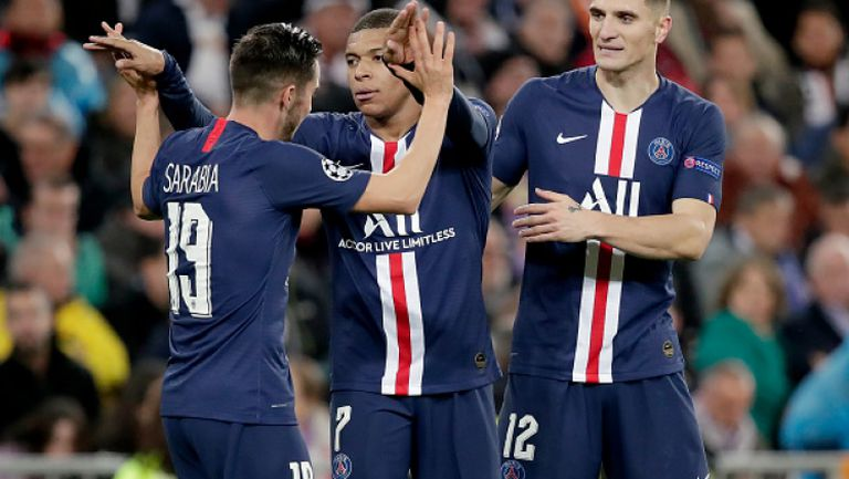 Реал Мадрид - Пари Сен Жермен 2:2