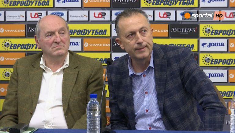 Фурнаджиев: Нямам намерение да се кандидатирам за президент на БФС