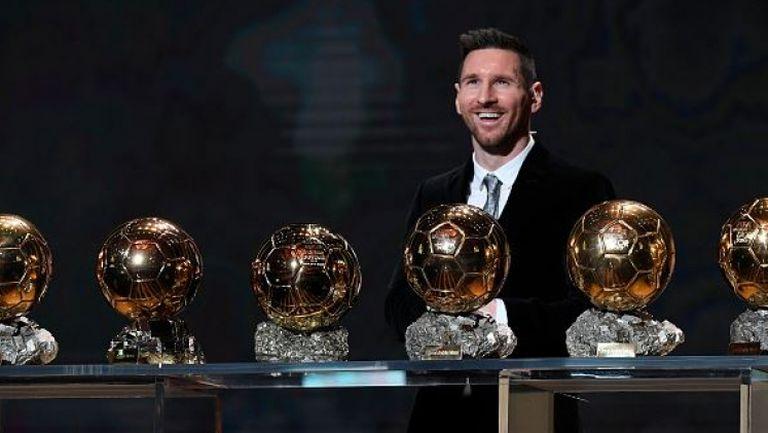 "Лео Меси спечели шеста ""Златната топка"""