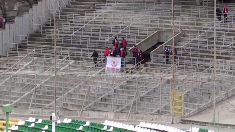 Малко фенове подкрепят ЦСКА 1948 в Стара Загора