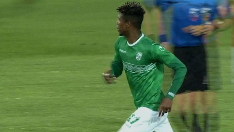 Берое отново се връща в мача след гол на Ибрахима Конте