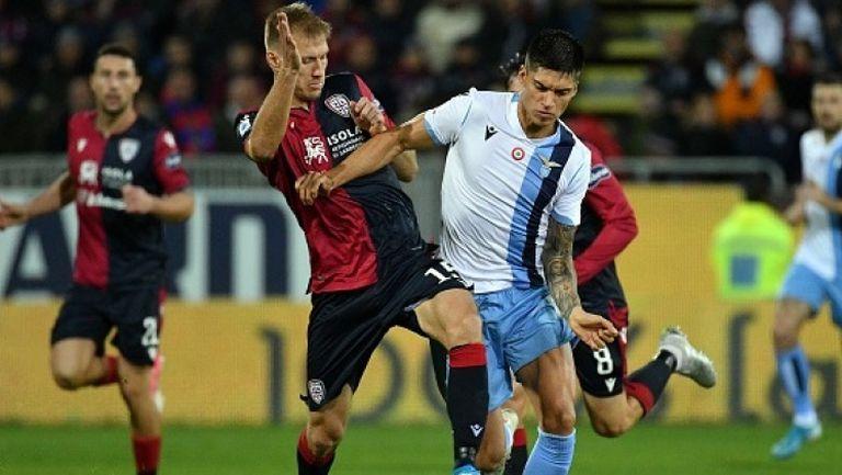 Лацио обърна Каляри в драматичен мач