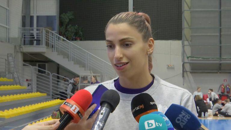 Елица Василева: Трябва да сме агресивни и уверени