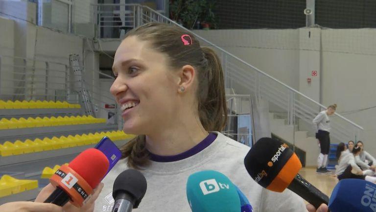 Христина Русева: Шансовете ни за класиране на олимпийските квалификации са 85%