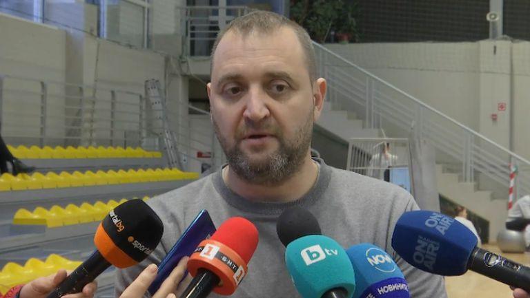 Иван Петков: Доволен съм от състоянието на отбора